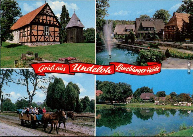 Ansichtskarte Undeloh Naturschutzpark Lüneburger Heide 1986