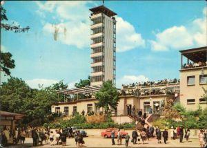 Ansichtskarte Köpenick-Berlin Müggelturm mit vielen Besuchern 1968