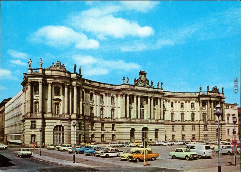 Mitte Berlin Unter Den Linden Bibliothek Alte Bibliothek