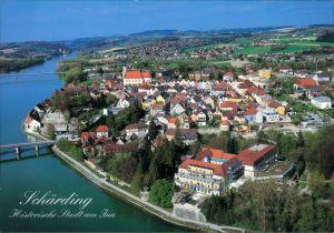Ansichtskarte Schärding Luftbild 2002