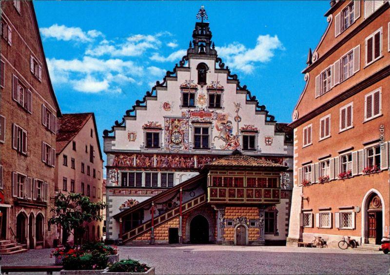 Ansichtskarte Lindau (Bodensee) Altes Rathaus 1982