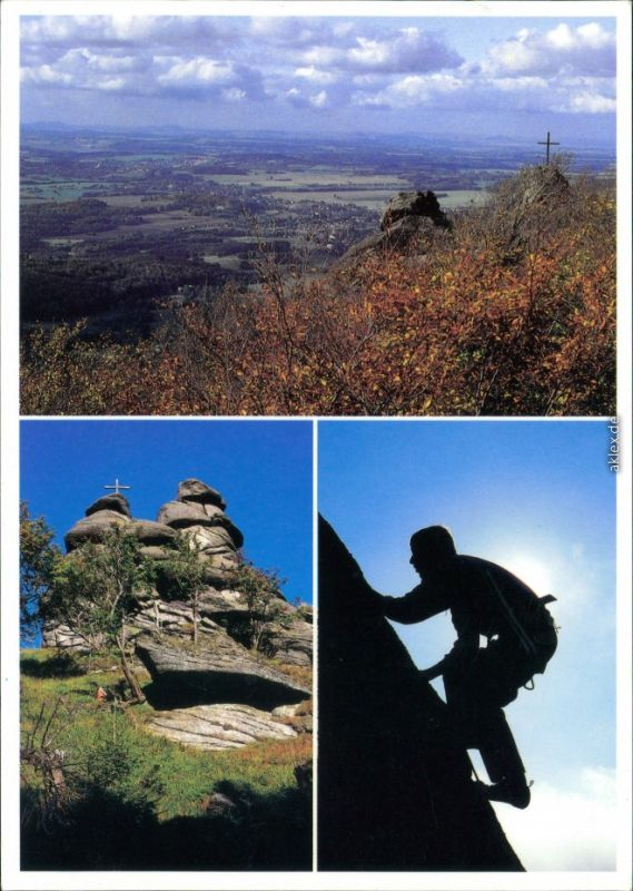Ansichtskarte Region Reichenberg Poezie jizerské žuly Isergebirge 2000