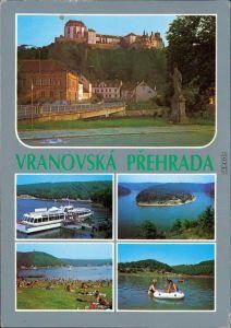 Frain an der Thaya Vranov nad Dyjí Vranovská přehrada / Talsperre Frain 1985