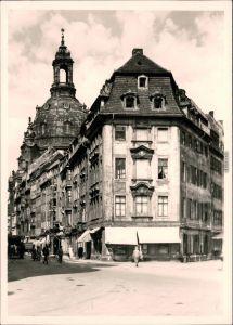 Ansichtskarte Innere Altstadt-Dresden Frauenkirche, vor der Zerstörung 1980