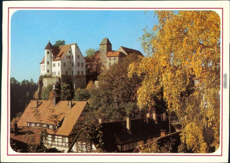 Hohnstein (Sächs. Schweiz) Burg Hohnstein (Sächsische Schweiz) 1987