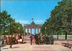 Ansichtskarte Mitte-Berlin Brandenburger Tor 1969