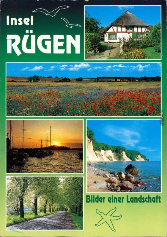 Ansichtskarte Mecklenburg Vorpommern Insel Rügen - Mehrbild 1990