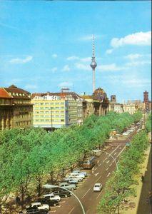 Ansichtskarte Mitte-Berlin Unter den Linden 1973