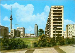 Ansichtskarte Mitte-Berlin Alexanderplatz 1973