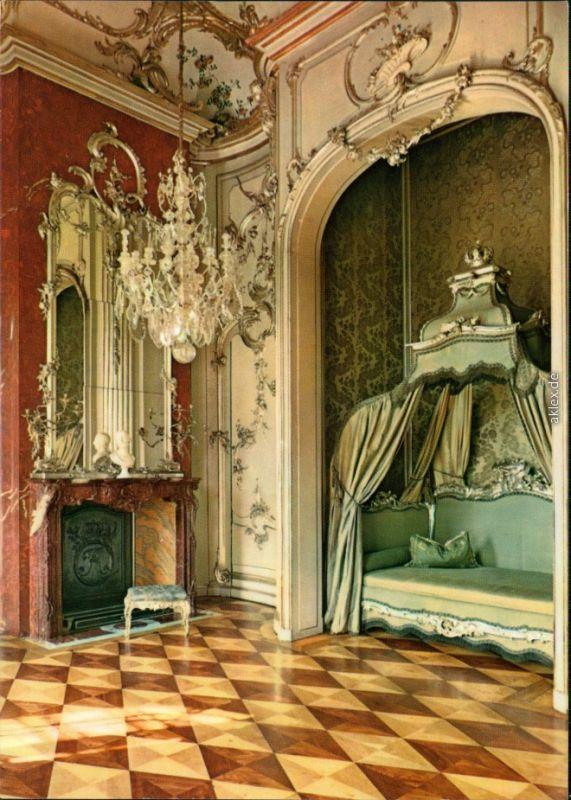 Potsdam Schloss Sanssouci - Neues Palais - Schlafzimmer Friedrich II ...