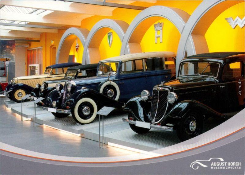 Ansichtskarte Zwickau August Horch Museum 2000