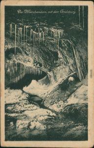 Ansichtskarte Saalfeld (Saale) Märchendom mit Gralsburg 1932