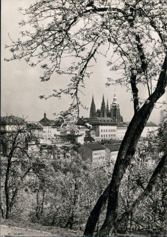 Ansichtskarte Prag Praha Panorama-Ansicht 1963