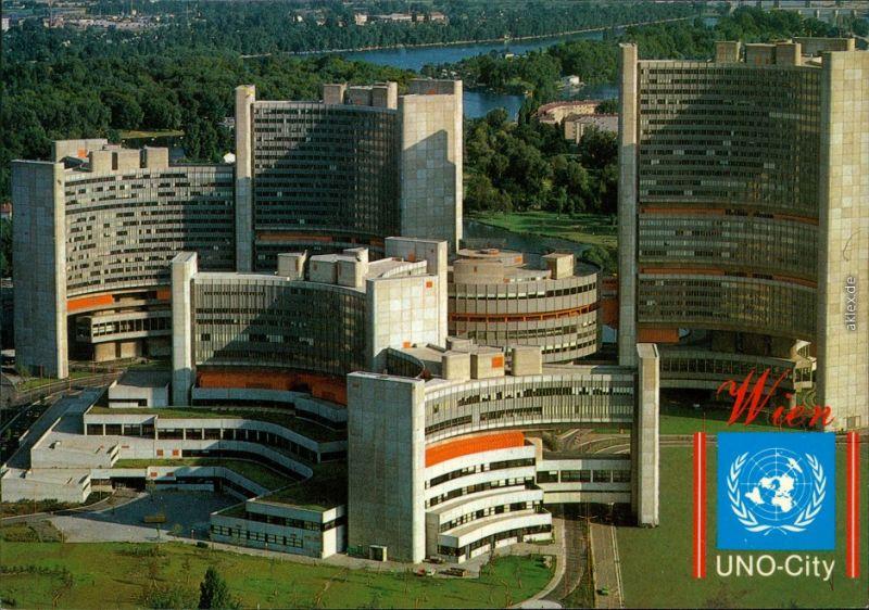 Ansichtskarte Donau City-Wien Vienna International Centre c1980