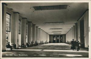 Ansichtskarte Bad Tölz Neue Wandelhalle - Innenansicht 1932