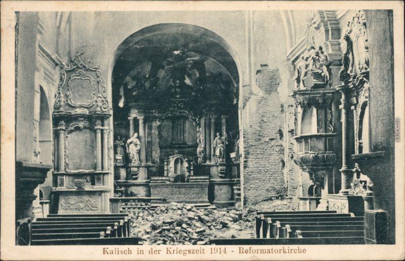 Kalisch Weltkrieg 1914 1915 Nr 13094 Oldthing Ansichtskarten Europa Polen Ohne Dt Gebiete