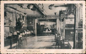 Ansichtskarte Büsum Alter Muschelsaal 1934