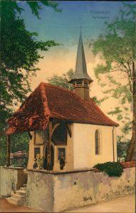 Ansichtskarte Küssnacht am Rigi Tellskapelle 1906