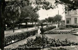 Ansichtskarte Ahlbeck (Usedom) Kuranlagen Dünenstrasse 1932