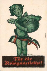 Ansichtskarte  Postkarten Kriegsanleihe - WK I Weltkrieg Patriotika 1916