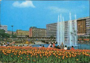 Wittgensdorf-Chemnitz Karl-Marx-Stadt Karl-Marx-Platz, Straße der Nationen 1976