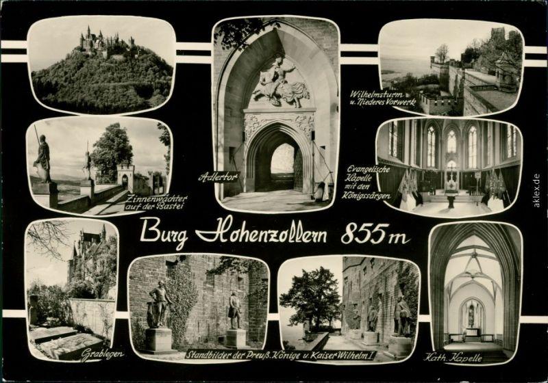 Ansichtskarte Hechingen Burg Hohenzollern 1985
