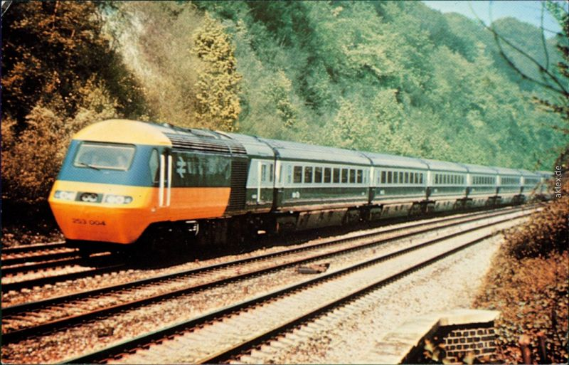 Ansichtskarte  Britisch Rail 125MPH High Speed Train 1985