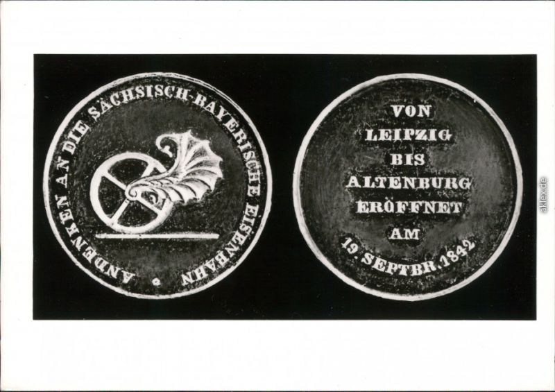Ansichtskarte Leipzig Bayerischer Bahnhof 1982