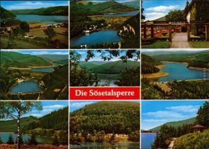 Ansichtskarte Osterode (Harz) Sösetalsperre 1987