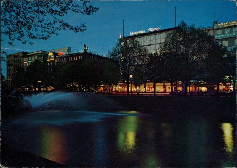 Ansichtskarte Düsseldorf Königsallee 1965