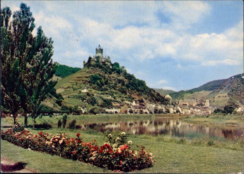 Ansichtskarte Cochem Kochem Reichsburg Cochem 1976