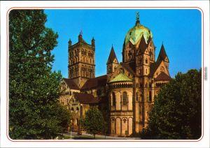 Ansichtskarte Neuss Quirinus Münster/Kirche 1985