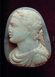 Neuss Clemens-Sels-Museum - Gemmensammlung, Büste des Kaisers Caracalla 1985