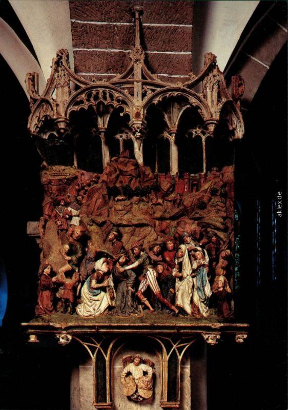 Köln Coellen   Cöln St. Ursula-Kirche - Kalksteinrelief