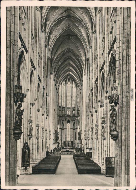 Ansichtskarte Köln Coellen | Cöln Kölner Dom 1953