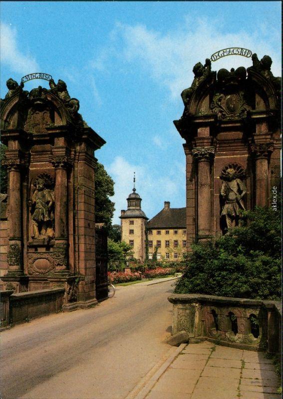 Ansichtskarte Höxter (Weser) Schloß Corvey - Eingang 1987