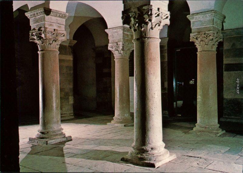 Ansichtskarte Höxter (Weser) Schloß Corvey - Säulen, Kapitellen 1985