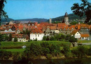 Hannoversch Münden Hann. Münden Altstadtansicht - Fuldaseite 1985
