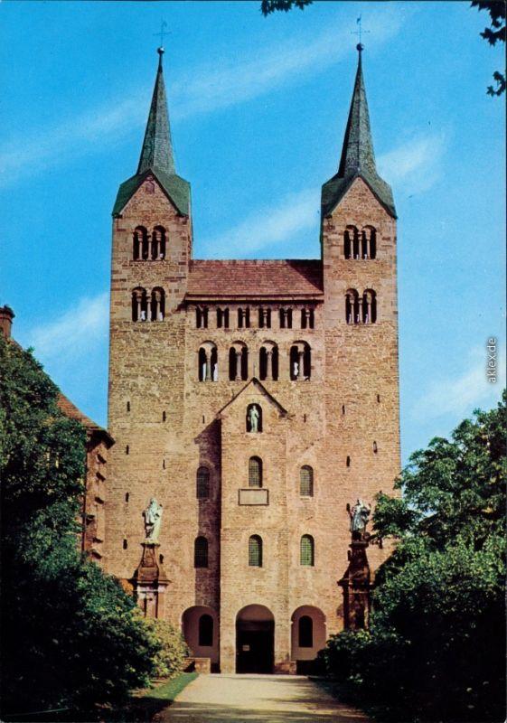 Ansichtskarte Höxter (Weser) Schloß Corvey 1985