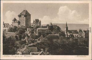 Ansichtskarte Burg an der Wupper-Solingen Schloss 1920