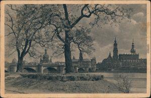 Ansichtskarte Innere Altstadt-Dresden Blick auf die Altstadt 1929