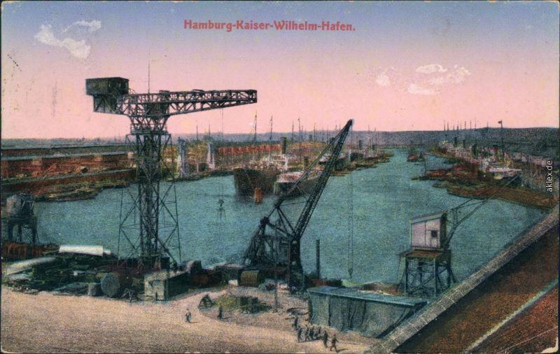 Ansichtskarte Hamburg Hafen 1926