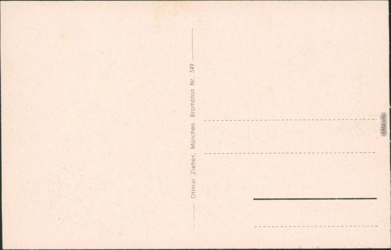 Ansichtskarte Starnberg Stadt mit See und Gebirge 1932  1
