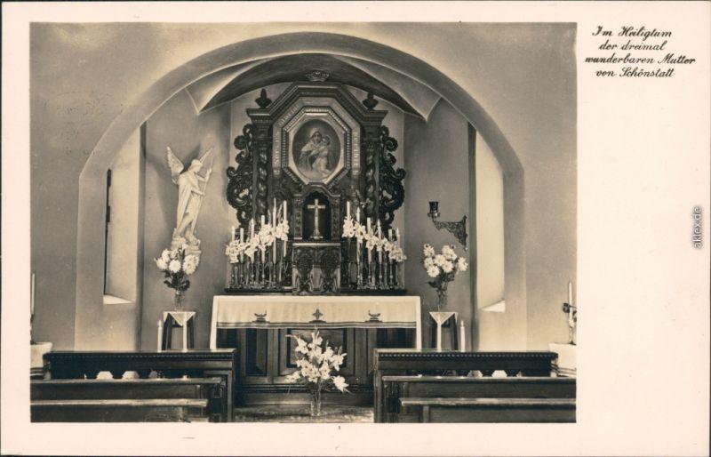Schönstatt-Vallendar Im Heiligtum der dreimal wunderbaren Mutter 1932