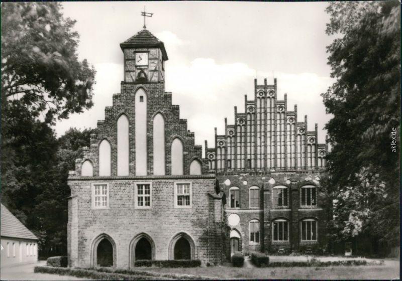 Ansichtskarte Kloster Zinna-Jüterbog Alte und Neue Abtei 1977