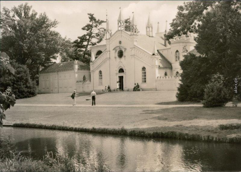 Wörlitz-Oranienbaum-Wörlitz Landschaftspark Wörlitz - Gotisches Haus 1972