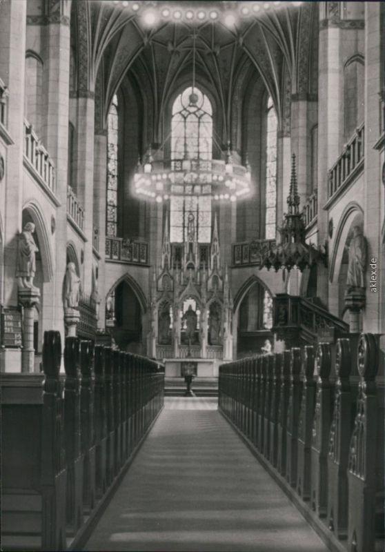 Ansichtskarte Lutherstadt Wittenberg Evangelische Schloßkirche 1983