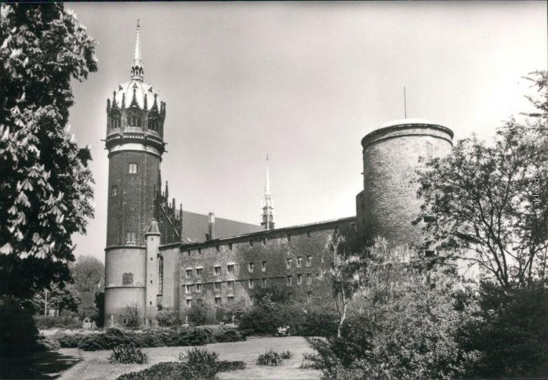 Lutherstadt Wittenberg Schloss und Evangelische Schloßkirche 1983