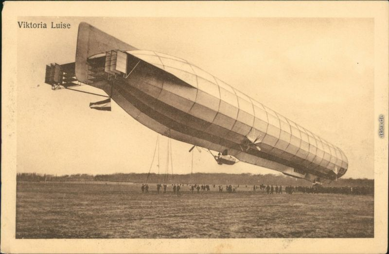 Ansichtskarte  Luftschiff - Zeppelin Viktoria Luise 1913