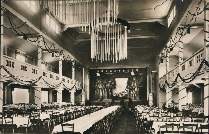 Ansichtskarte Überlingen Saalbau Raben - Saal 1936